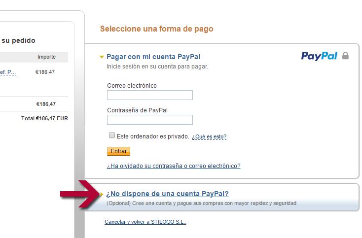 02.Sin cuenta en Paypal
