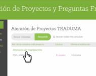 Acceso a proyecto